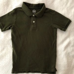Wonder Nation Green Polo short sleeve shirt